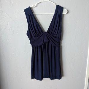 TART navy jersey mini dress